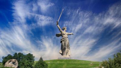 Памятник «Родина-мать зовет!»