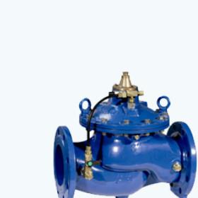 Клапан с регулятором давления фланцевый